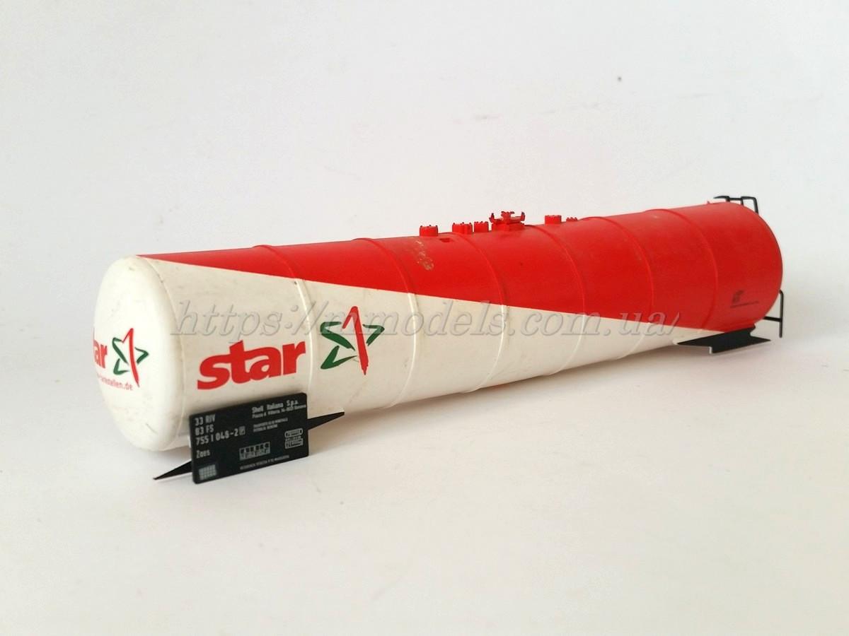 Запасные части для вагонов - котел 4х осной цистерны , производства Piko,масштаба 1/87, H0