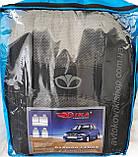 Авточехлы Daewoo Lanos 1997- (синий) Nika, фото 3