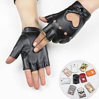 🍓Кожаные перчатки с сердечками | Одежда для секса, интимное белье, кожаные перчатки, эротическая одежда