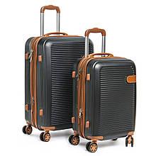 Дорожный чемодан на колесиках набор 2 шт