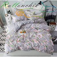 Комплект постельного белья бязь №3728 Двуспальный Евро