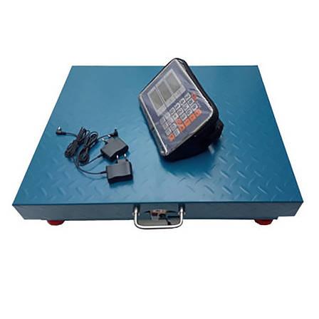 Торговые весы 600кг 55*65 Opera OP-600 метал WIFI  + ПОДАРОК: Настенный Фонарик с регулятором BL-8772A, фото 2