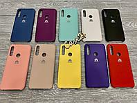 Чехол Soft touch на Huawei P Smart Z (10 цветов)