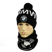 Мужская шапка и снуд - BMW