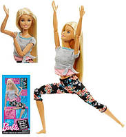 "Кукла Барби шарнирная Йога блондинка ""Двигайся как я"" Barbie Made to Move. Оригинал из США"