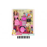 """Лялька """"Sariel"""" з домашнім улюбленцем (коробка) 7727-A1/A2 р.28,8*9*33см(7727-A1/A2)"""
