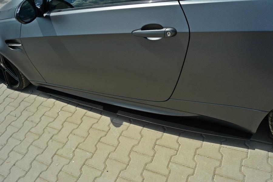 Диффузоры порогов BMW M3 E92 / E93 (дорест.)