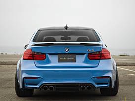 Спойлер BMW F30 в стиле M4 (стекловолокно)