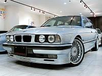 Накладка передняя BMW E34 стиль Alpina