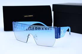 Женские солнцезащитные очки Маска 60116 голубые