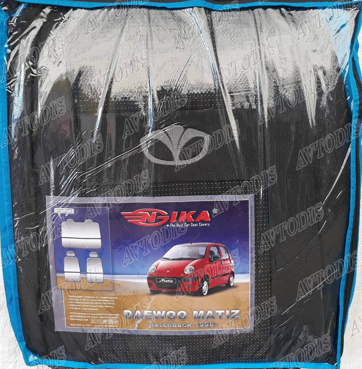 Авточехлы Daewoo Matiz HB 1998- Nika