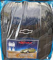 Автомобильные чехлы Chevrolet Lacetti 2003- (sedan) (синие) Nika