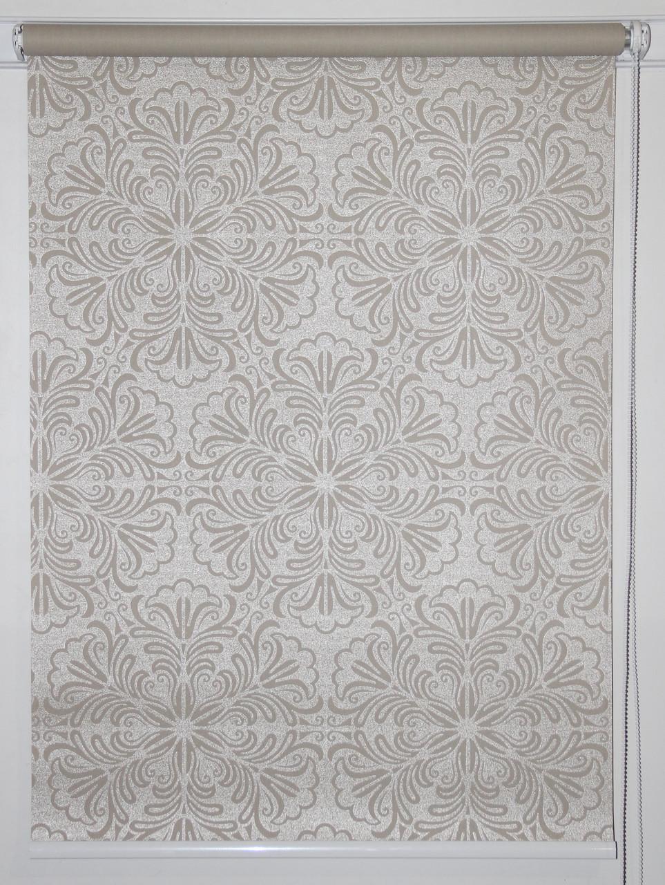 Готовые рулонные шторы 575*1500 Ткань Эмир Бежевый