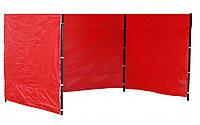 Боковые стенки к шатру 3х4,5м(цельным полотном)