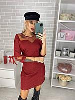 Платье / креп дайвинг с люрексом / Украина 29-152, фото 1