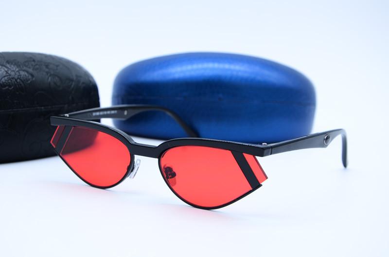 Женские солнцезащитные фигурные очки 56313 с40