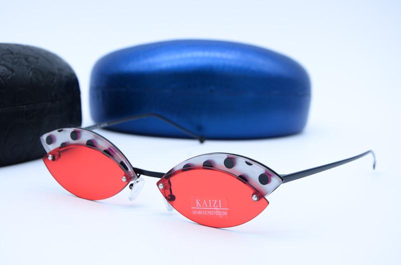 Женские солнцезащитные фигурные очки 74313 с40