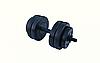 Гантель композитная RN-Sport 13 кг - 1 шт + эспандер, фото 6