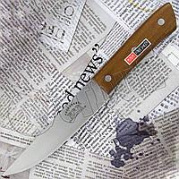 Нож кухонный Freesheep ZC - 02 с деревянной рукоятью. Прочное, качественное лезвие из нержавейки, фото 1