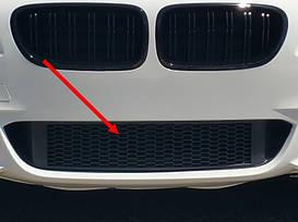 Решетка в бампер BMW F10 М-пакет центральная