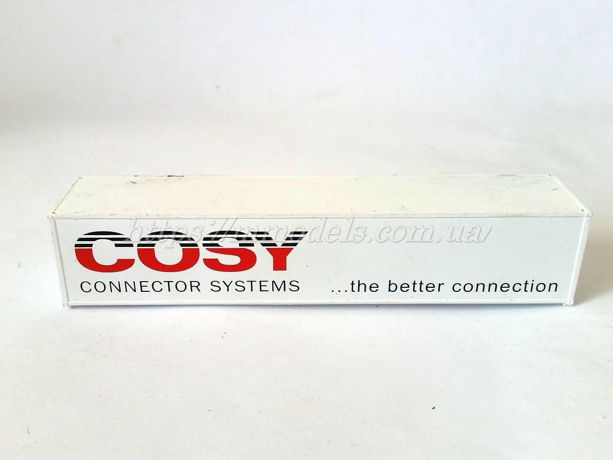 """Контейнер 40 футовый """" COSY """", масштаба 1/87"""