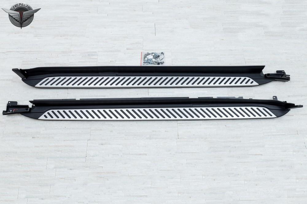 Пороги (подножки боковые) BMW X3 G01