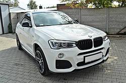 Набір накладок та спойлерів BMW X4 M-pack (F26)
