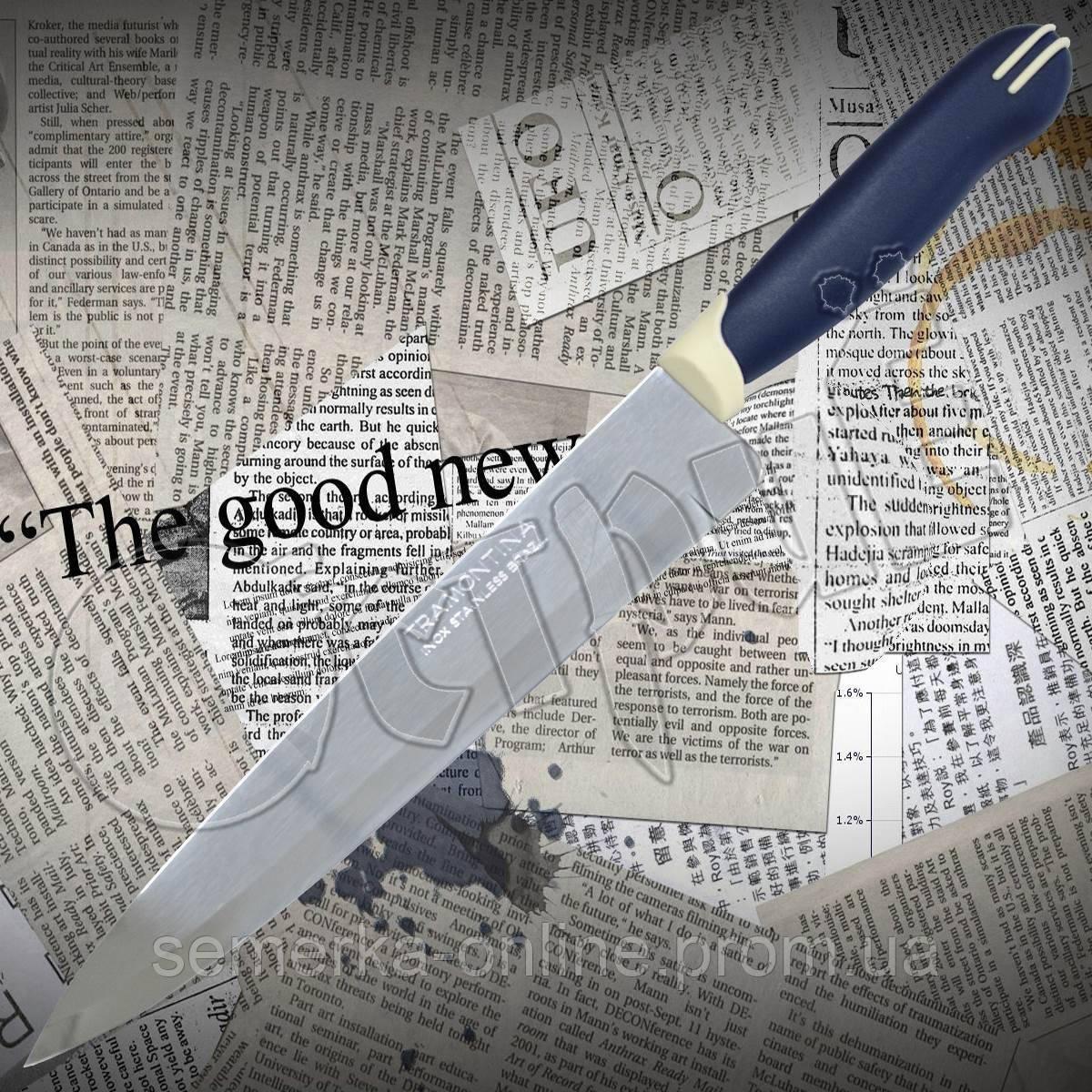 Нож кухонный Tramontina 23523/018 MULTICOLOR универсальный из нержавеющей стали