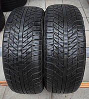 Шины б/у 205/50 R17 Goodyear Vector 4Seasons, ВСЕСЕЗОН, 6 мм+, 2017 г., пара
