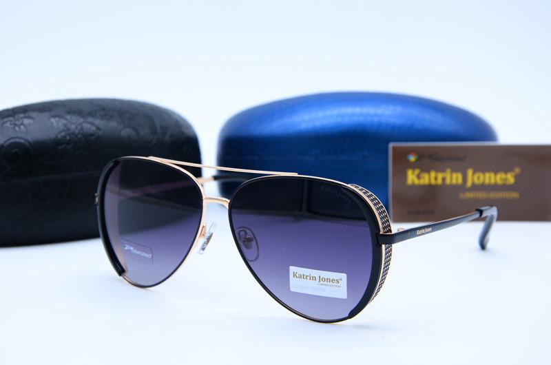 Женские фирменные очки Авиатор Katrin Jones 0827 c46-G5