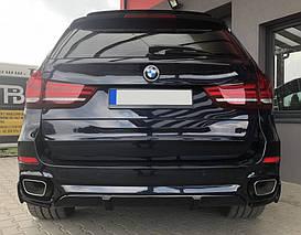 Накладка заднего бампера BMW X5 F15 M-pakiet в стиле M-performance