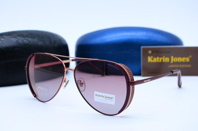 Женские фирменные очки Авиатор Katrin Jones 0827 с44-G6