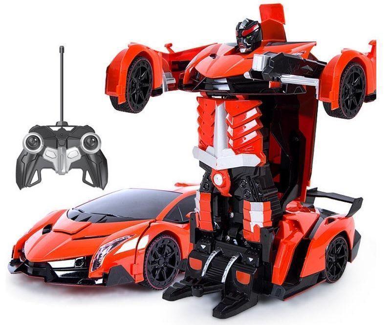 Машинка трансформер Robot Car с пультом - фото 2