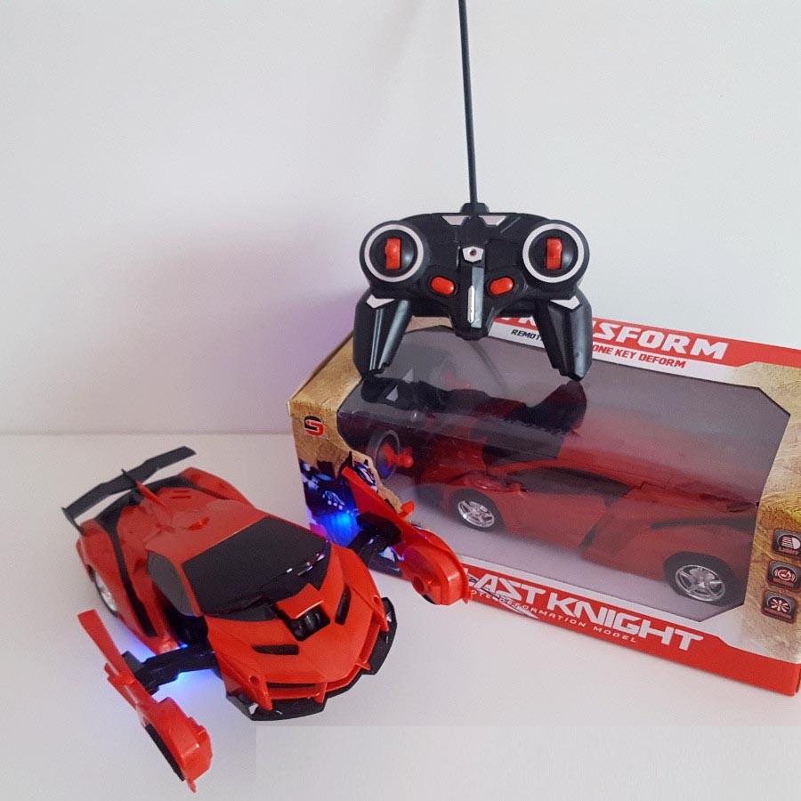 Машинка трансформер Robot Car с пультом - фото 3