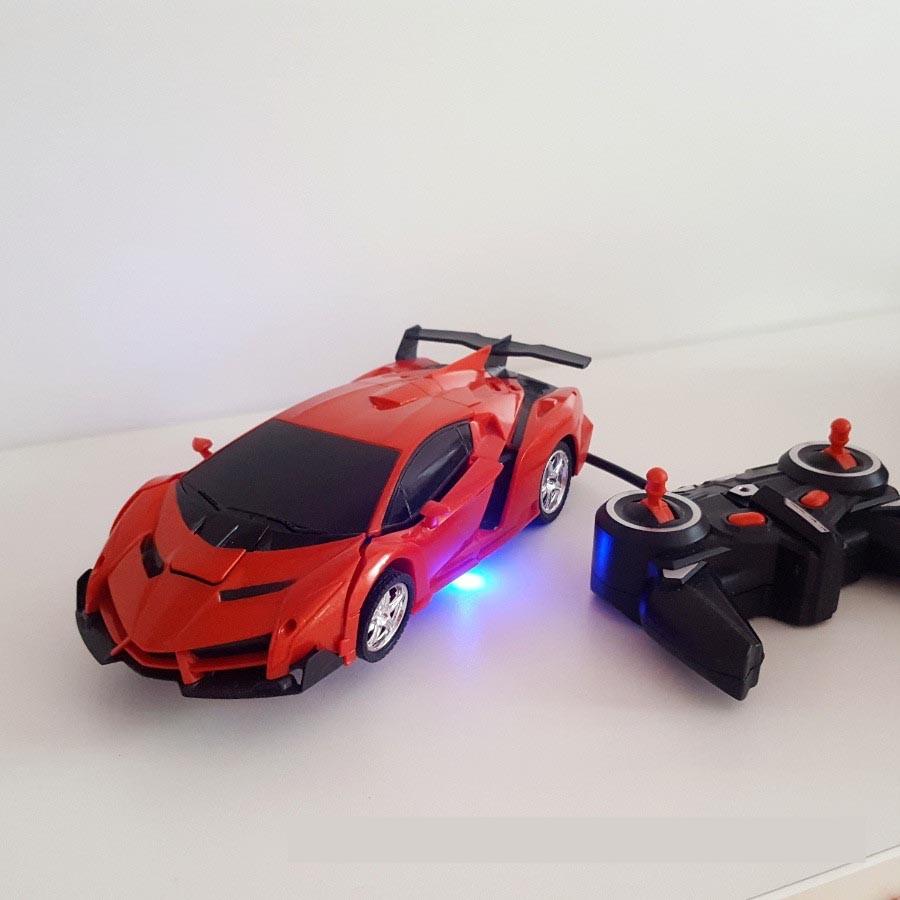 Машинка трансформер Robot Car с пультом - фото 4