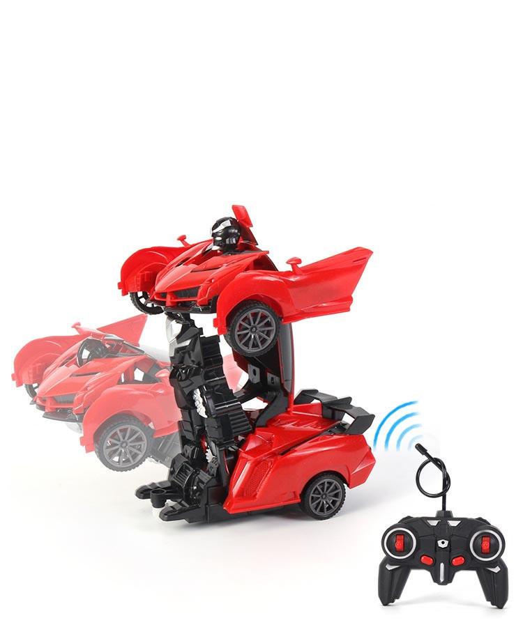 Машинка трансформер Robot Car с пультом - фото 7