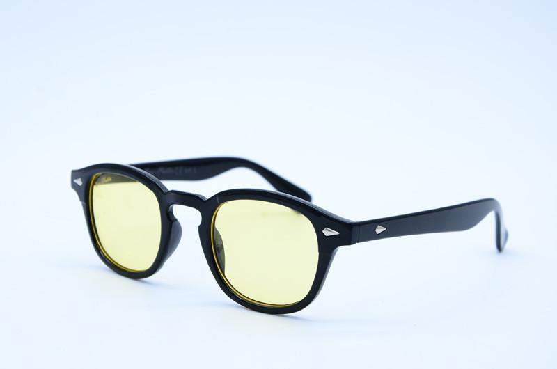 Женские солнцезащитные овальные очки 2548 желтые