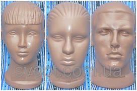 Манекен голова мужская, женская, детская