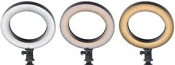 Лампа настольная кольцевая со светодиодной подсветкой MP-353 OLY на подставке