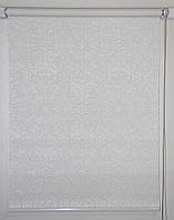 Готовые рулонные шторы 300*1500 Ткань Эмир Белый
