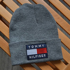 Шапка в стиле Tommy Hilfiger зимняя / демисезонная, фото 2