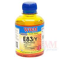 Чернила WWM для Epson Stylus Photo T50/P50/PX660 200г Yellow Водорастворимые (E83/Y) светостойкие