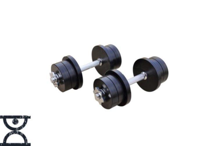 Гантели наборные 2x18 кг стальные