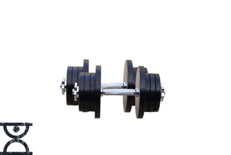 Гантели разборные стальные 2 шт по 28 кг