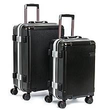Набор чемоданов черных