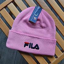 Шапка в стиле FILA зимняя / демисезонная, фото 3
