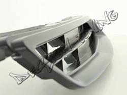 Решетка радиатора Honda Civic VI тюнинговая черная