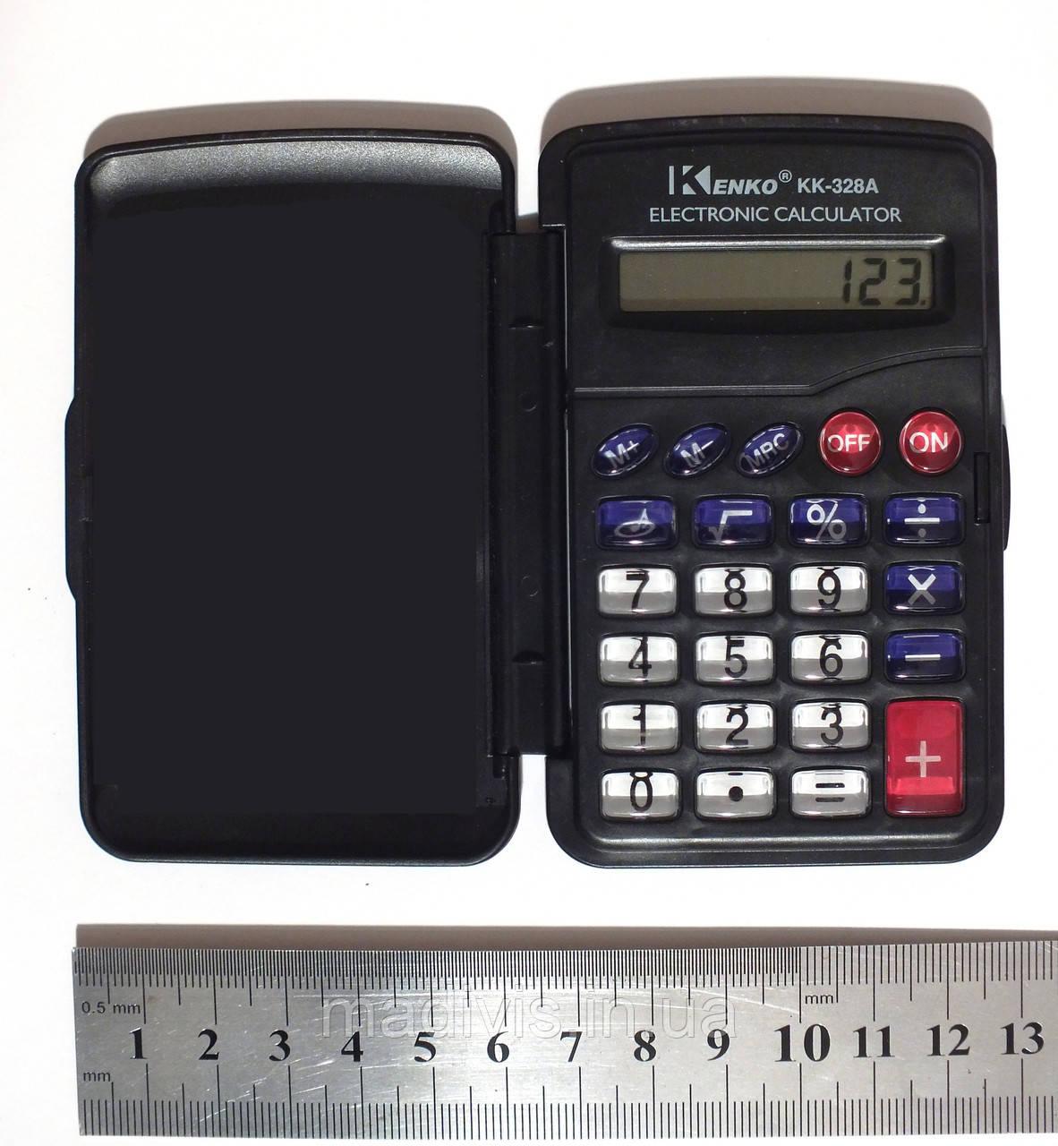 Кишеньковий Калькулятор з кришкою KK-328A U-164 Kenko