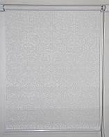 Готовые рулонные шторы 475*1500 Ткань Эмир Белый, фото 1