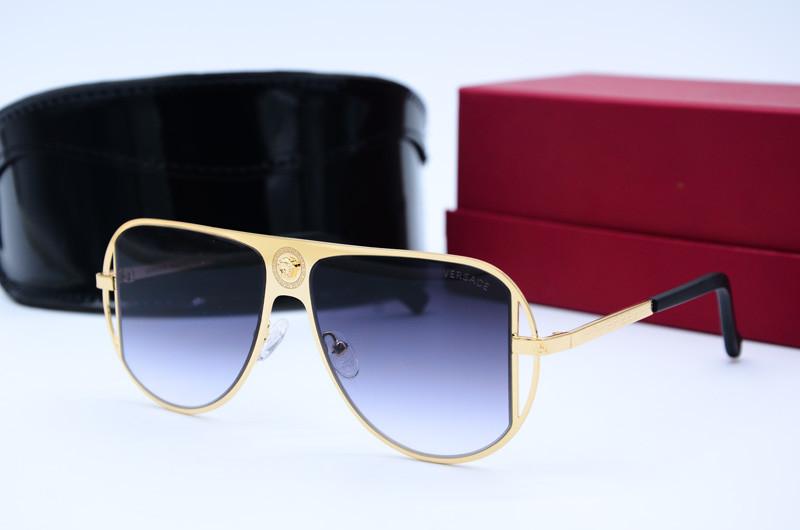 Женские солнцезащитные очки Маска 20310 золото черн